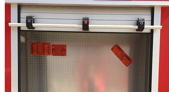 消防车铝合金卷帘门