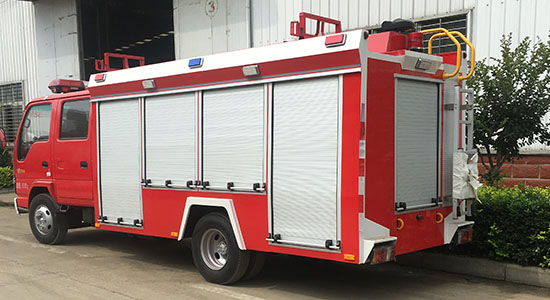 消防车卷帘门厂家