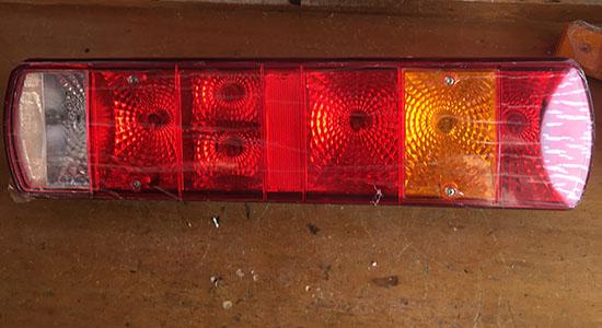 消防车红色警灯